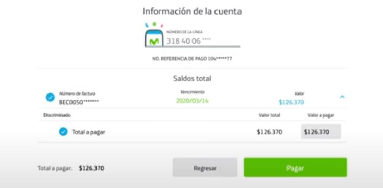 Cómo Pagar una factura movistar en linea
