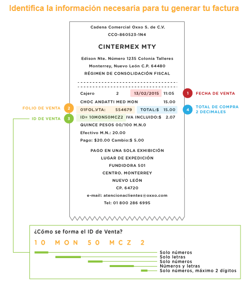 Cómo descargar la factura OXXO en linea